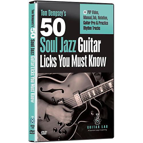 Emedia 50 Soul Jazz Licks You Must Know DVD thumbnail