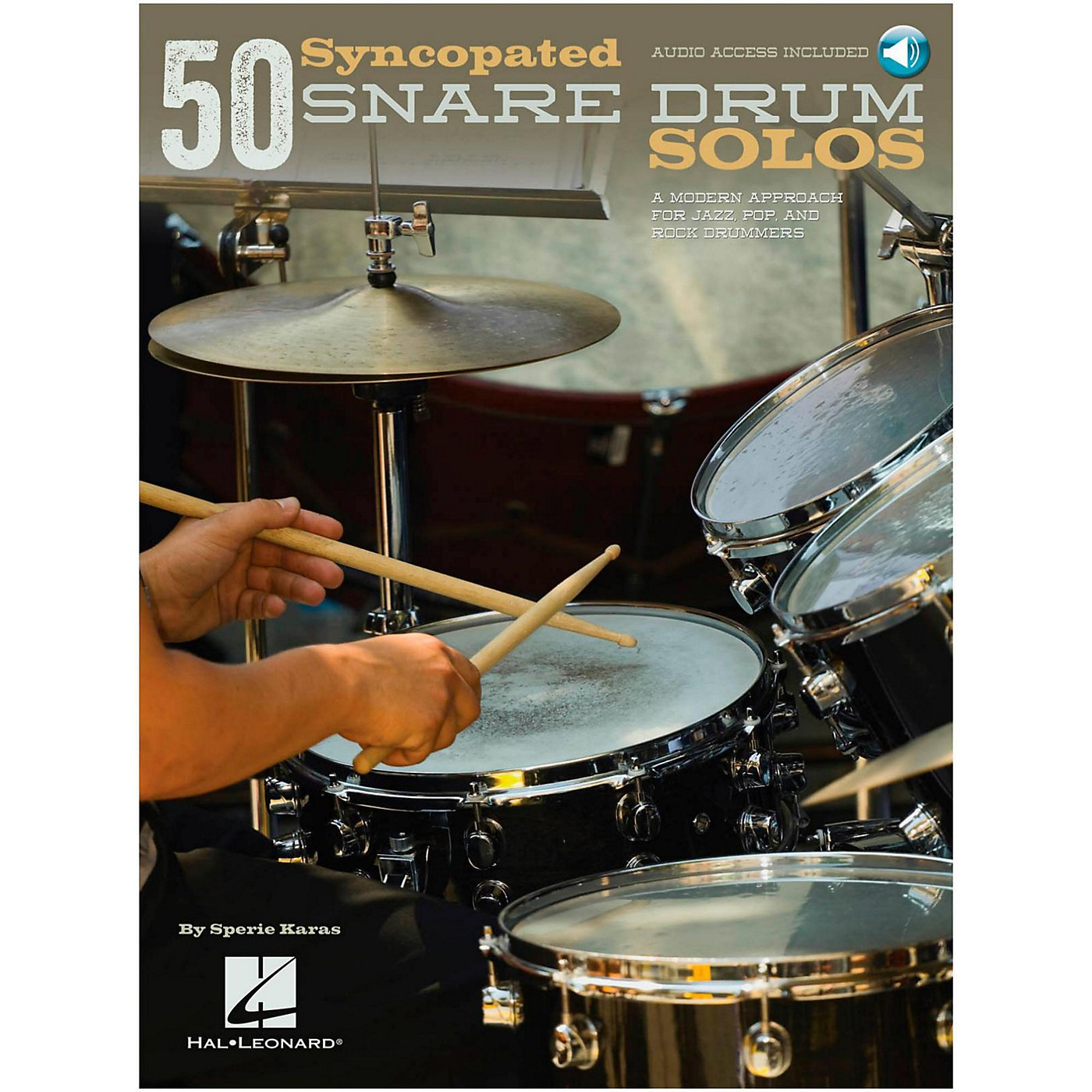 Hal Leonard 50 Syncopated Snare Drum Solos - A Modern Approach For Jazz, Pop & Rock Drummers Book/Online Audio thumbnail