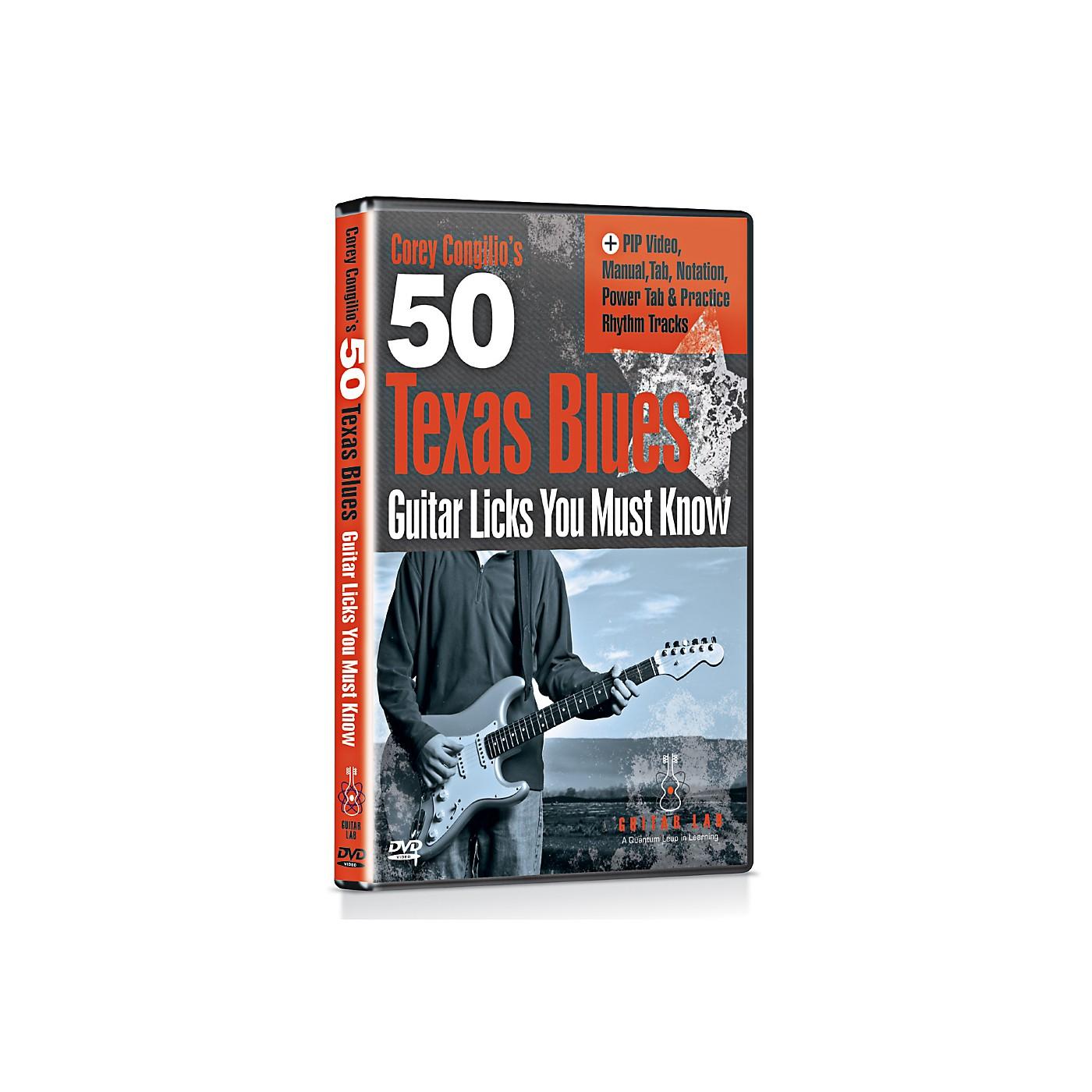 eMedia 50 Texas Blues Licks You Must Know DVD thumbnail