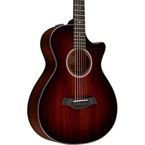 Taylor 500 Series 522ce 12-Fret Grand Concert Acoustic-Electric Guitar thumbnail