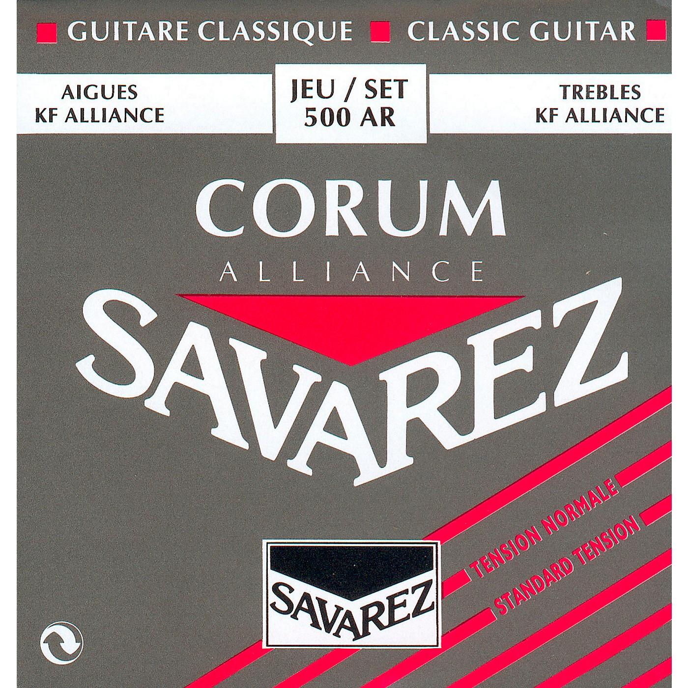 Savarez 500AR Alliance Corum Normal Tension Guitar Strings thumbnail