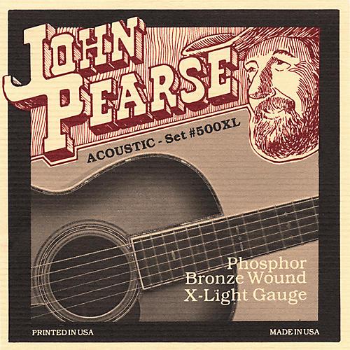 John Pearse 500XL Bronze Acoustic Guitar Strings-thumbnail