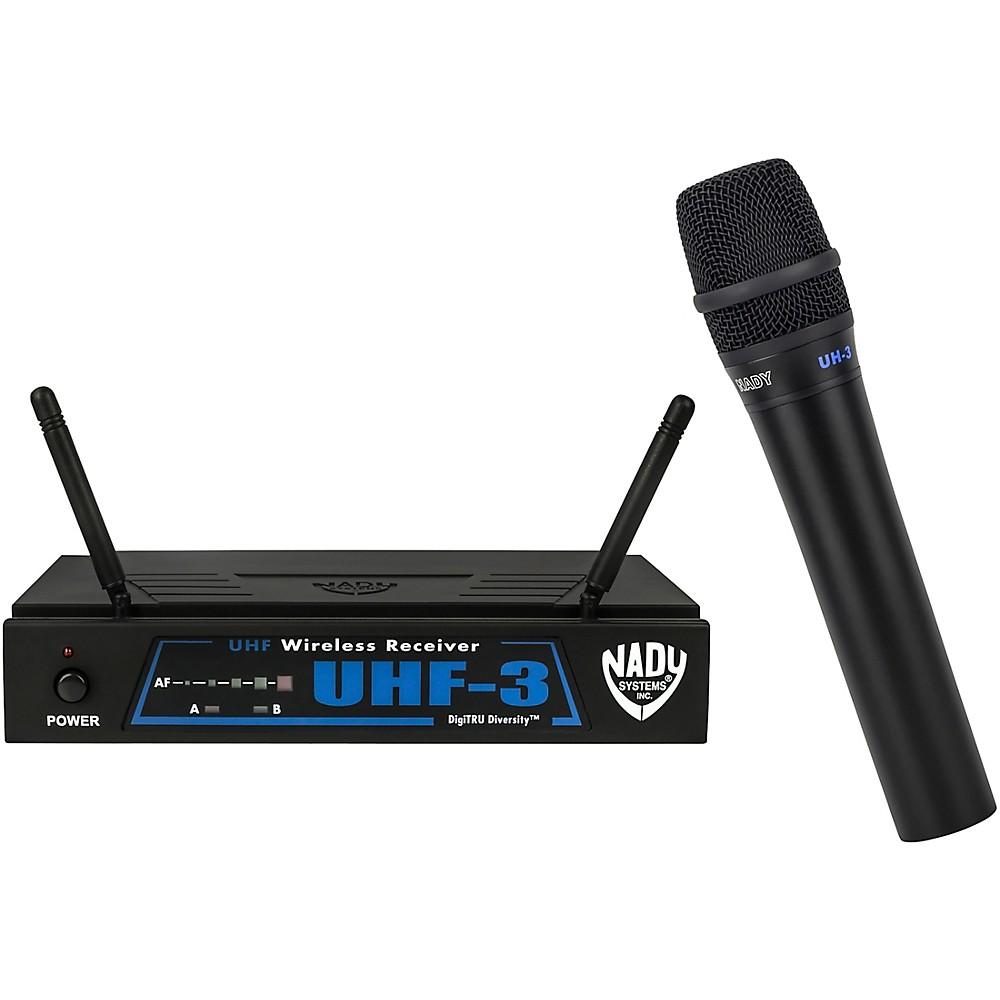 Nady UHF-3 Handheld Wireless System MU6 509.55