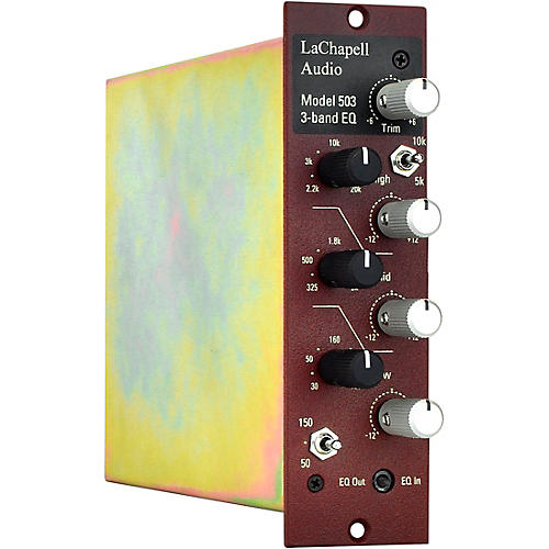 LaChapell Audio 503 3-Band EQ 500 Series Module thumbnail