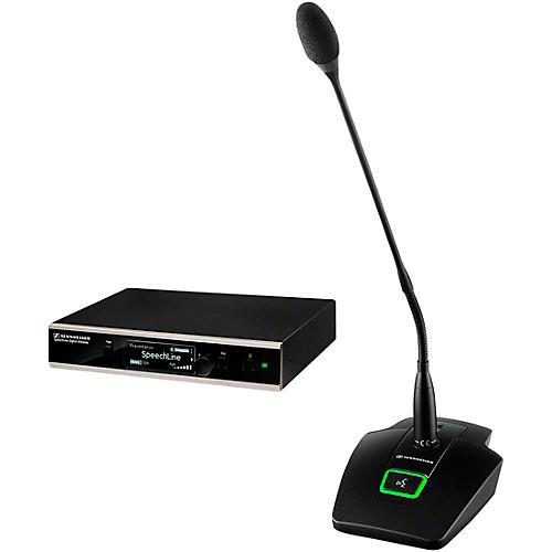 Sennheiser 506631 SL TS 133 GN SET DW-4 US SpeechLine Digital Wireless Table Mic Set thumbnail