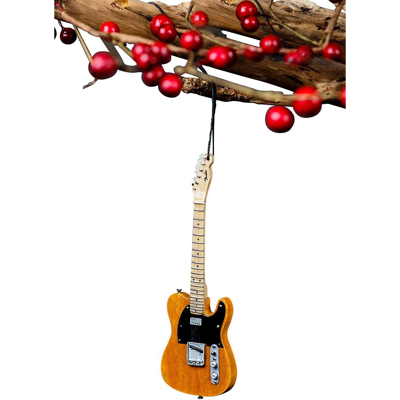 Axe Heaven 50's Blonde Tele 6 Inch Holiday Ornament thumbnail