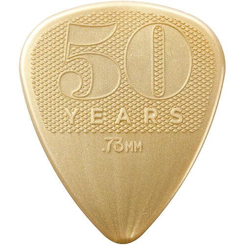 Dunlop 50th Anniversary Gold Nylon Pick, .73mm (32-Pack) thumbnail