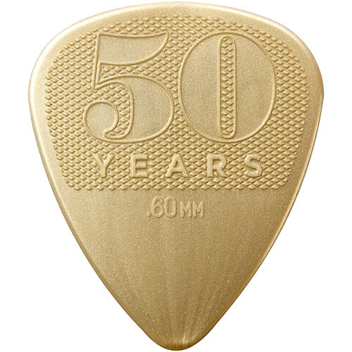 Dunlop 50th Anniversary Nylon Pick, .60mm (12-Pack) thumbnail