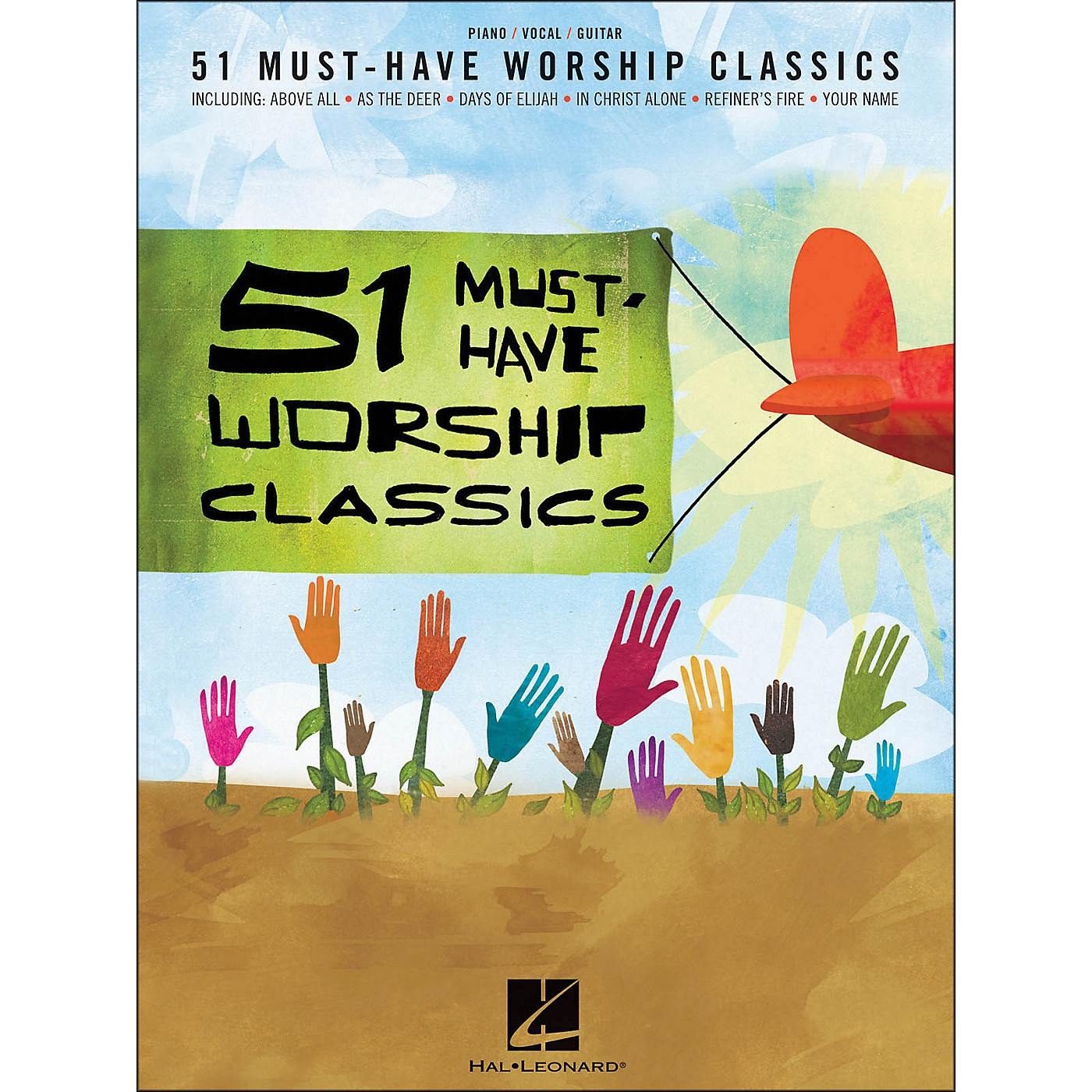 Hal Leonard 51 Must-Have Worship Classics arranged for piano, vocal, and guitar (P/V/G) thumbnail