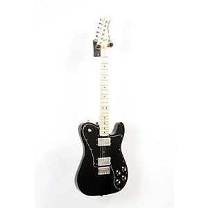 Fender Classic Series '72 Telecaster Deluxe Electric Guitar Black 888365518916
