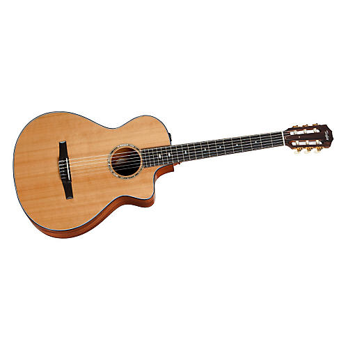 Taylor 512ce Mahogany/Cedar Nylon String Grand Concert Acoustic-Electric Guitar thumbnail