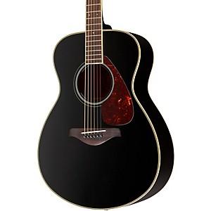 Yamaha FS720S Folk Acoustic Guitar Black