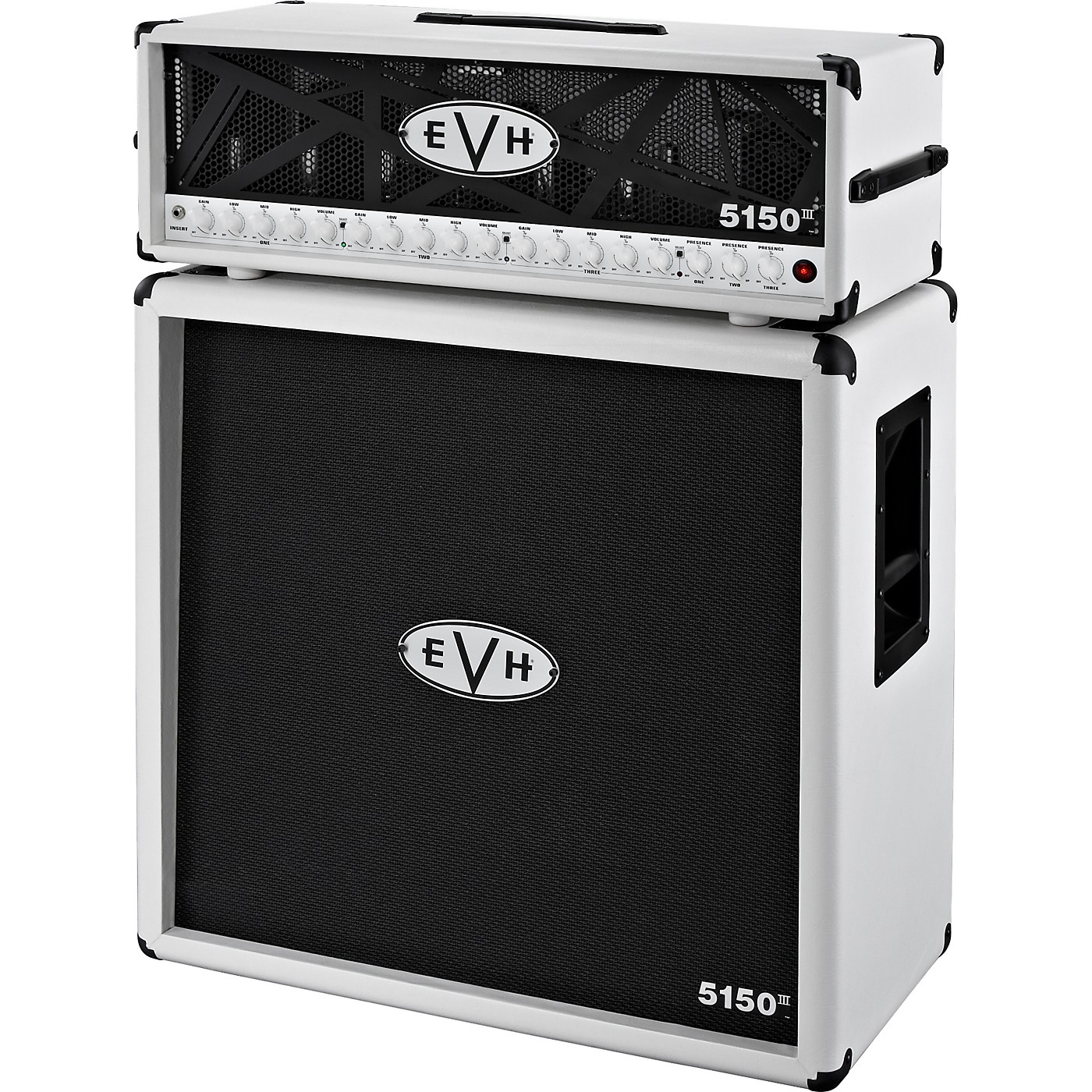 EVH 5150 III Head and 4x12 Half Stack thumbnail