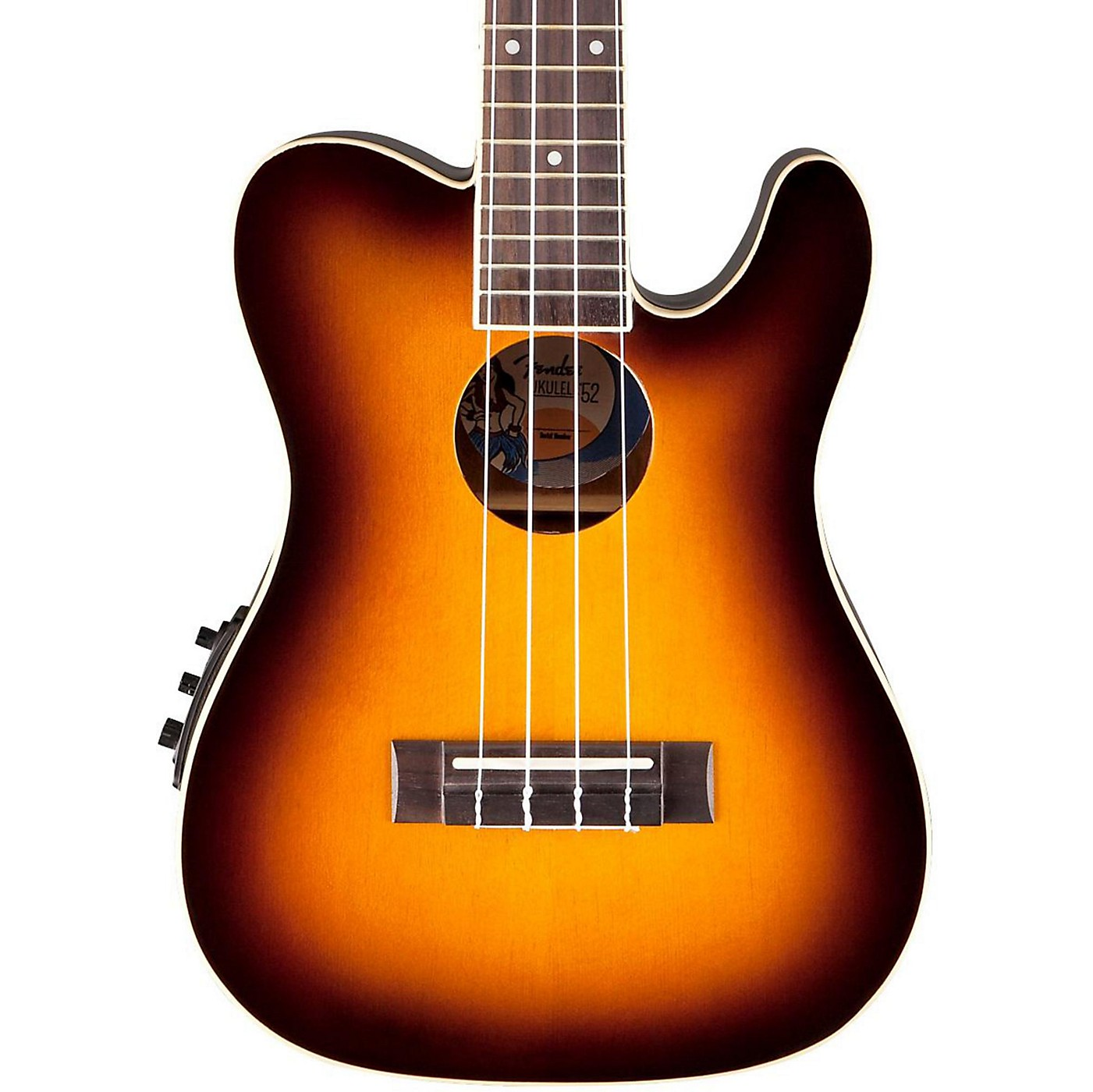 Fender '52 Concert Acoustic-Electric Ukulele thumbnail