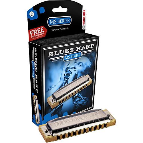 Hohner 532 Blues Harp MS-Series Harmonica thumbnail