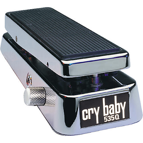Dunlop 535QC Chrome Cry Baby Wah Pedal thumbnail