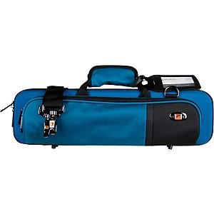 Protec Slimline Flute PRO PAC Case Teal Blue