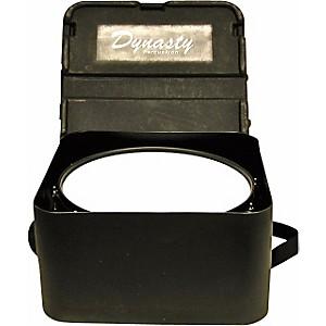 DEG Dynasty Marching Snare drum case, square, black molded for concert or Wedge snare Black Molded 14 Inch Short