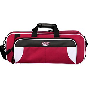 Gator Spirit Series Lightweight Trumpet Case White and Maroon