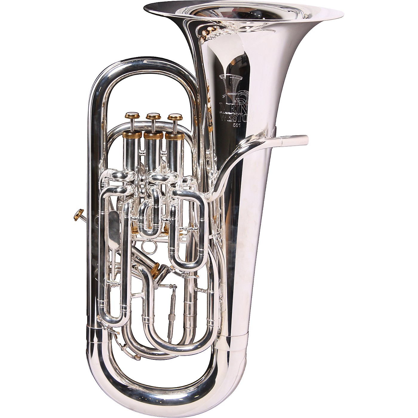 Meinl Weston 551S Deluxe Series Compensating Euphonium with Water Catcher and Tuning Trigger thumbnail