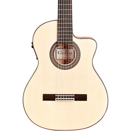 Cordoba 55FCE Acoustic-Electric Nylon String Flamenco Guitar thumbnail