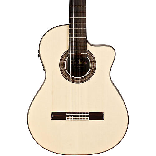 Cordoba 55FCE Flamenco Macassar Ebony Acoustic-Electric Nylon String Flamenco Guitar thumbnail