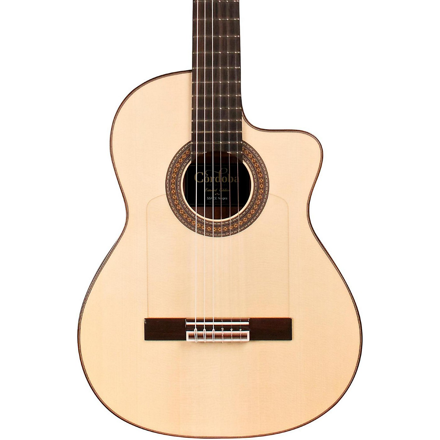 Cordoba 55FCE Thinbody Limited Flamenco Acoustic-Electric Guitar thumbnail