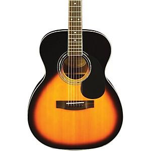 Mitchell MO100S Solid-Top Orchestra Guitar Vintage Sunburst