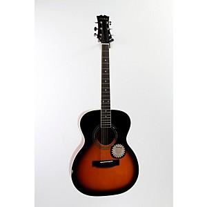 Mitchell MO100S Solid-Top Orchestra Guitar Vintage Sunburst 888365514529