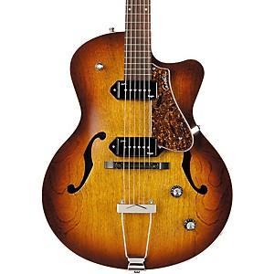 Godin 5th Avenue CW Kingpin II Archtop Electric Guitar Cognac Burst
