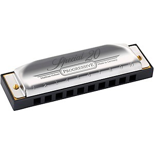 Hohner 560 Special 20 Harmonica with Country Tuning G#