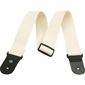 D'Addario Planet Waves Woven Cotton Guitar Strap Natural