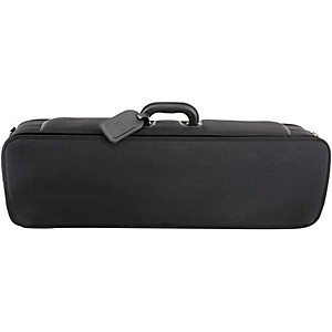 J. Winter Super Light Series Violin Case Black with Dark Blue Interior