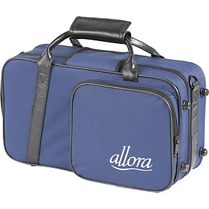 Allora Clarinet Case Blue - With Exterior Pocket