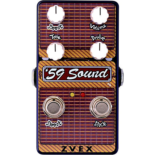 ZVex '59 Sound Vertical Overdrive Effects Pedal thumbnail
