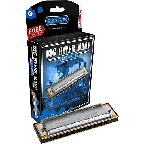 Hohner 590 Big River MS-Series Harmonica thumbnail