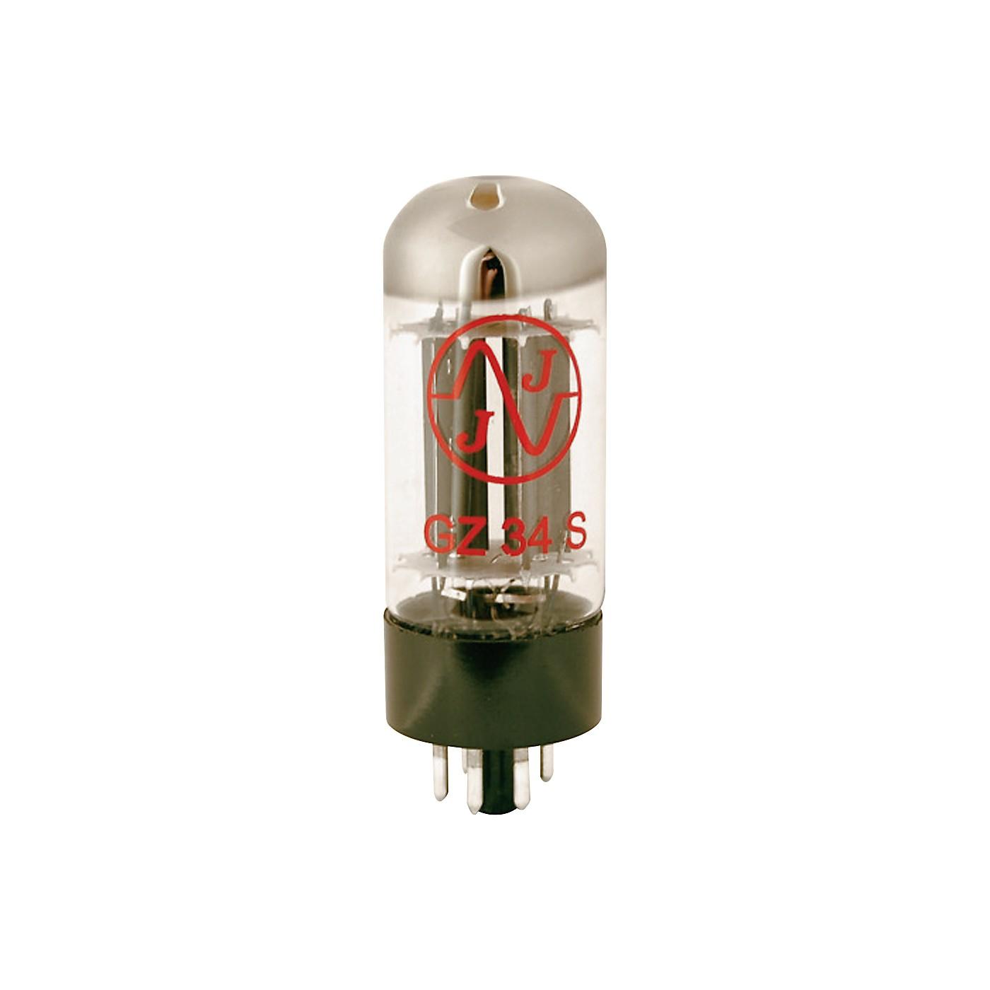 JJ Electronics 5AR4 / GZ34 Rectifier Vacuum Tube thumbnail