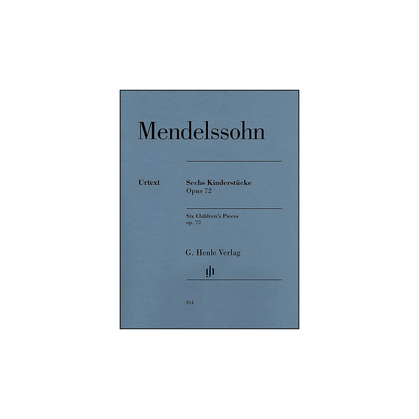 G. Henle Verlag 6 Children's Pieces Op. 72 for Piano Solo By Mendelssohn thumbnail