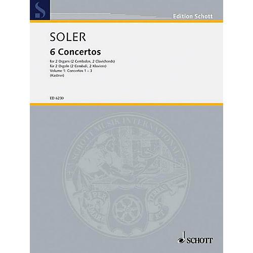 Schott 6 Concertos - Vol. 1 (Performance Score) Schott Series thumbnail