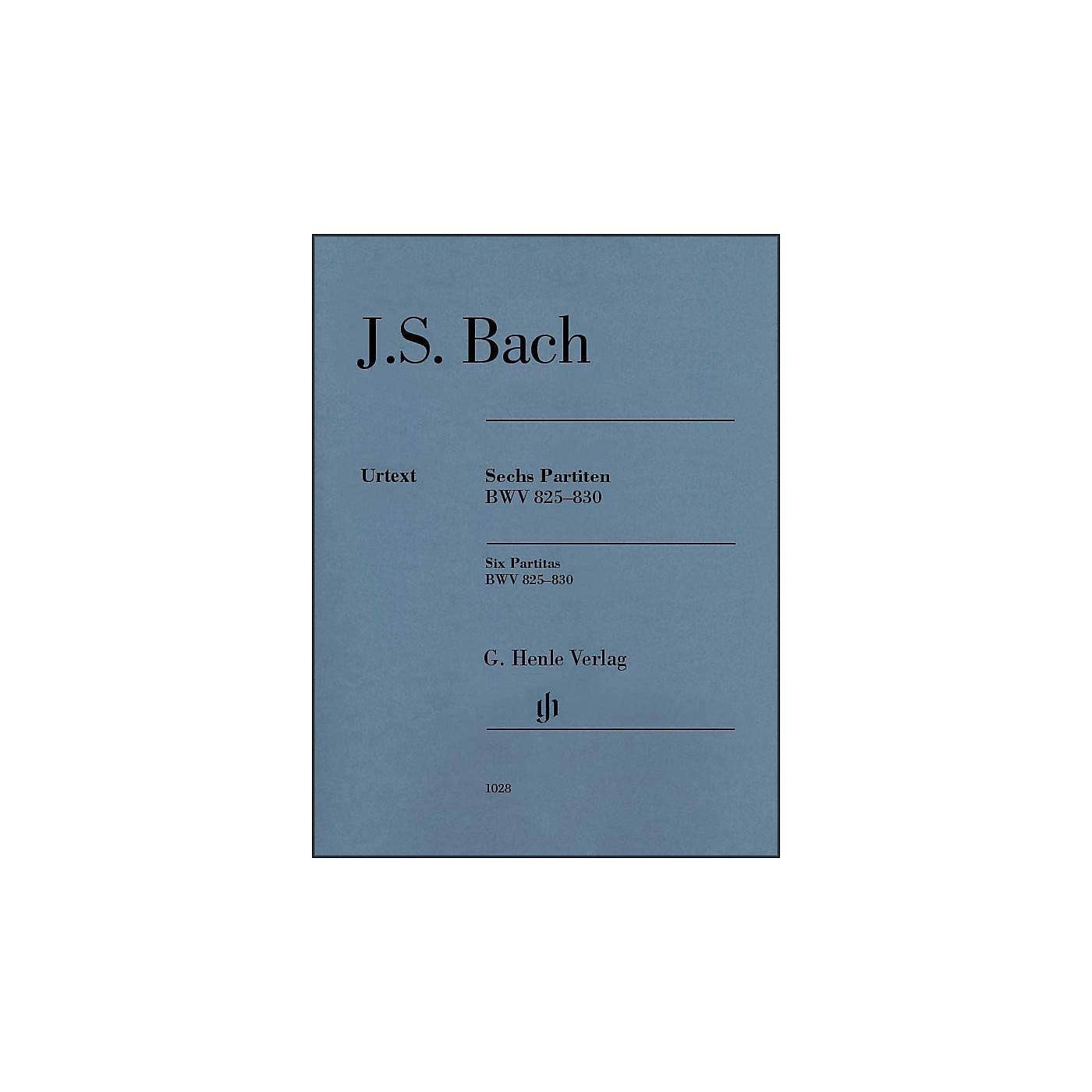 G. Henle Verlag 6 Partitas BWV 825-830 By Bach thumbnail