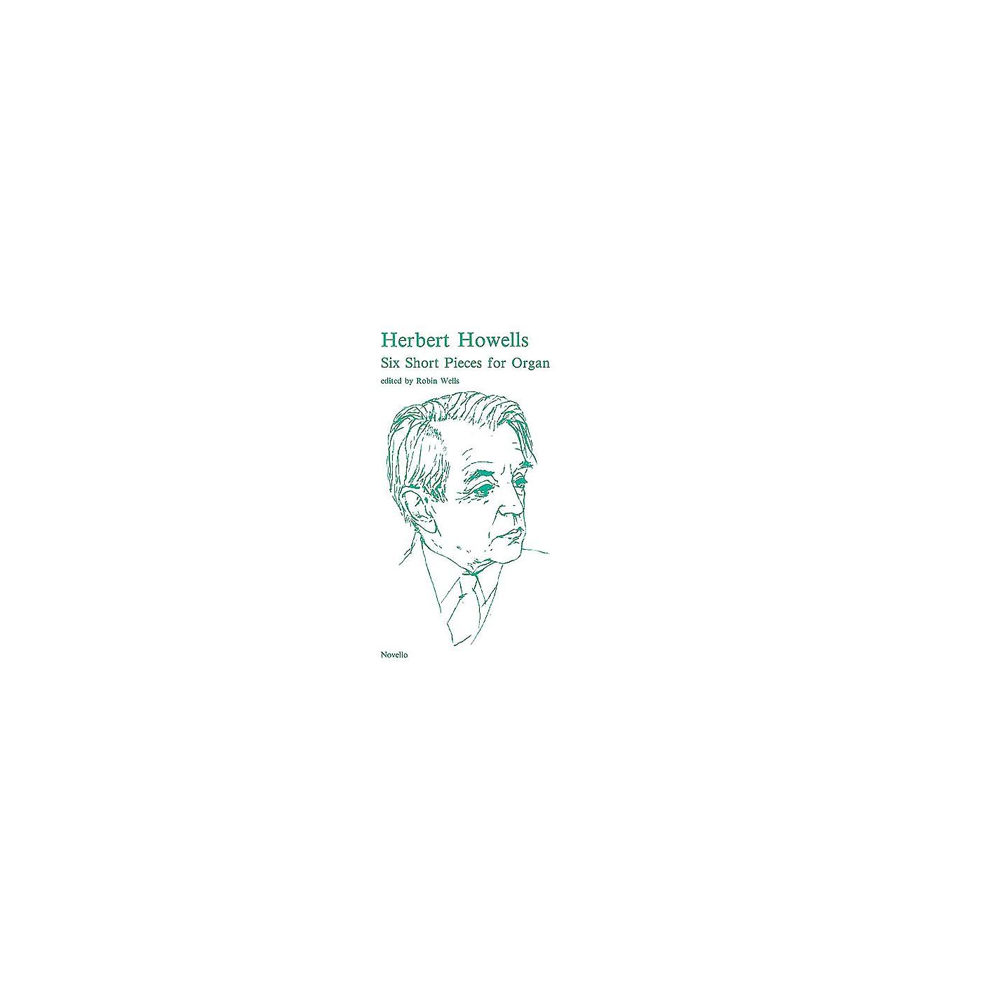 Novello 6 Short Pieces for Organ Music Sales America Series thumbnail
