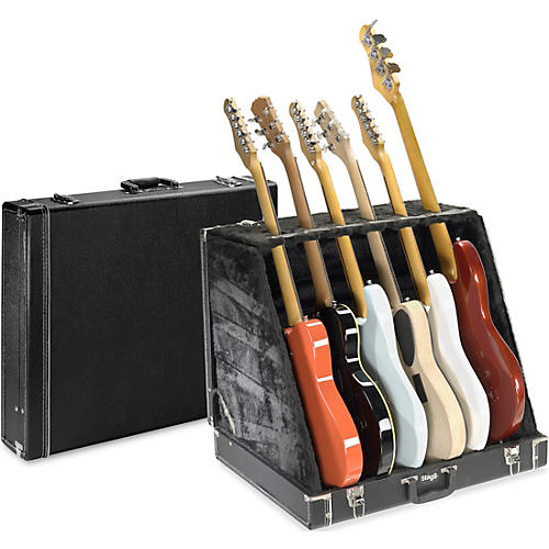 Stagg 6 Slot Guitar Stand thumbnail