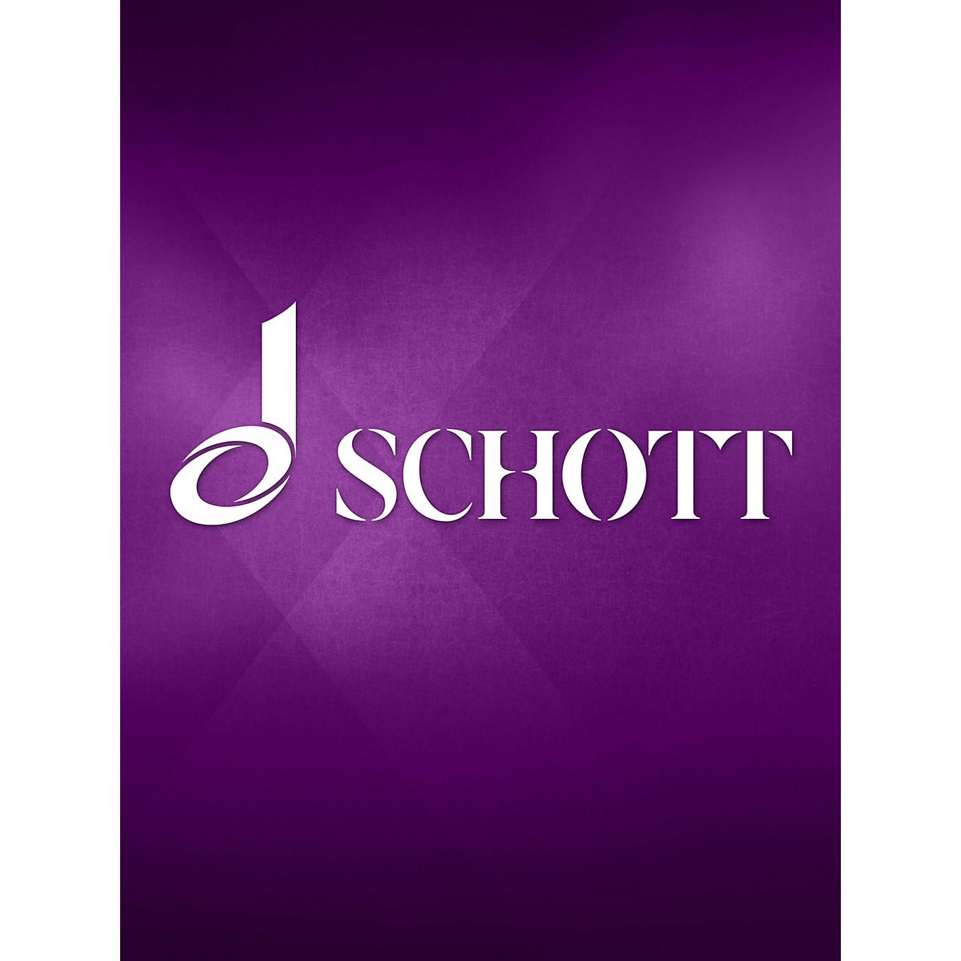 Schott 6 Sonatas, Op. 3 (for 2 Treble Recorders) Schott Series by William Croft thumbnail
