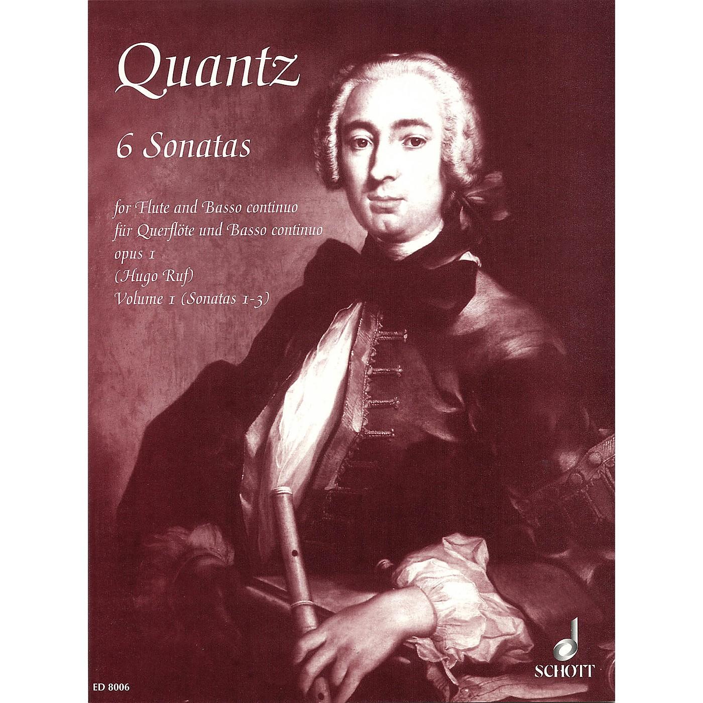 Schott 6 Sonatas Volume 1, No. 1-3, Op. 1 Schott Series thumbnail