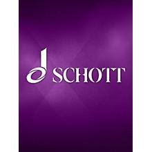 Schott 6 Sonatas for 2 Oboes Schott Series by Juan Bautista Pla