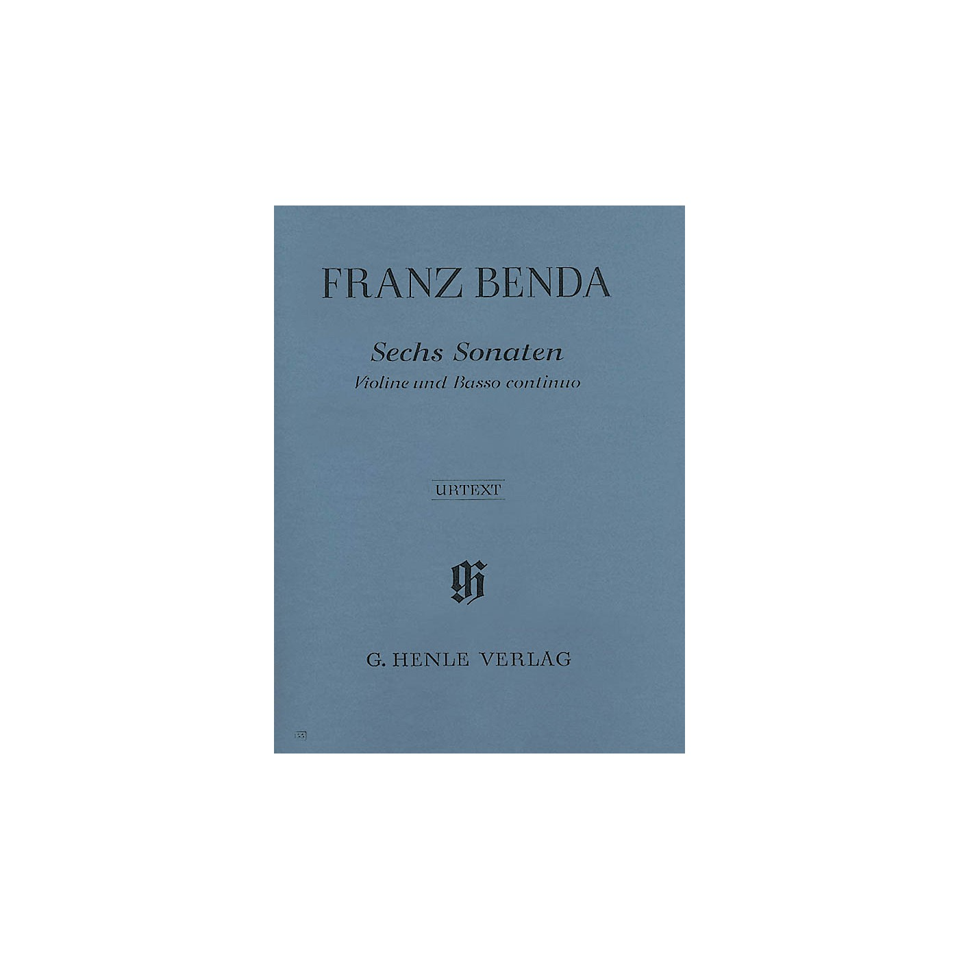 G. Henle Verlag 6 Sonatas for Violin and Basso Continuo Henle Music Folios Series Softcover thumbnail