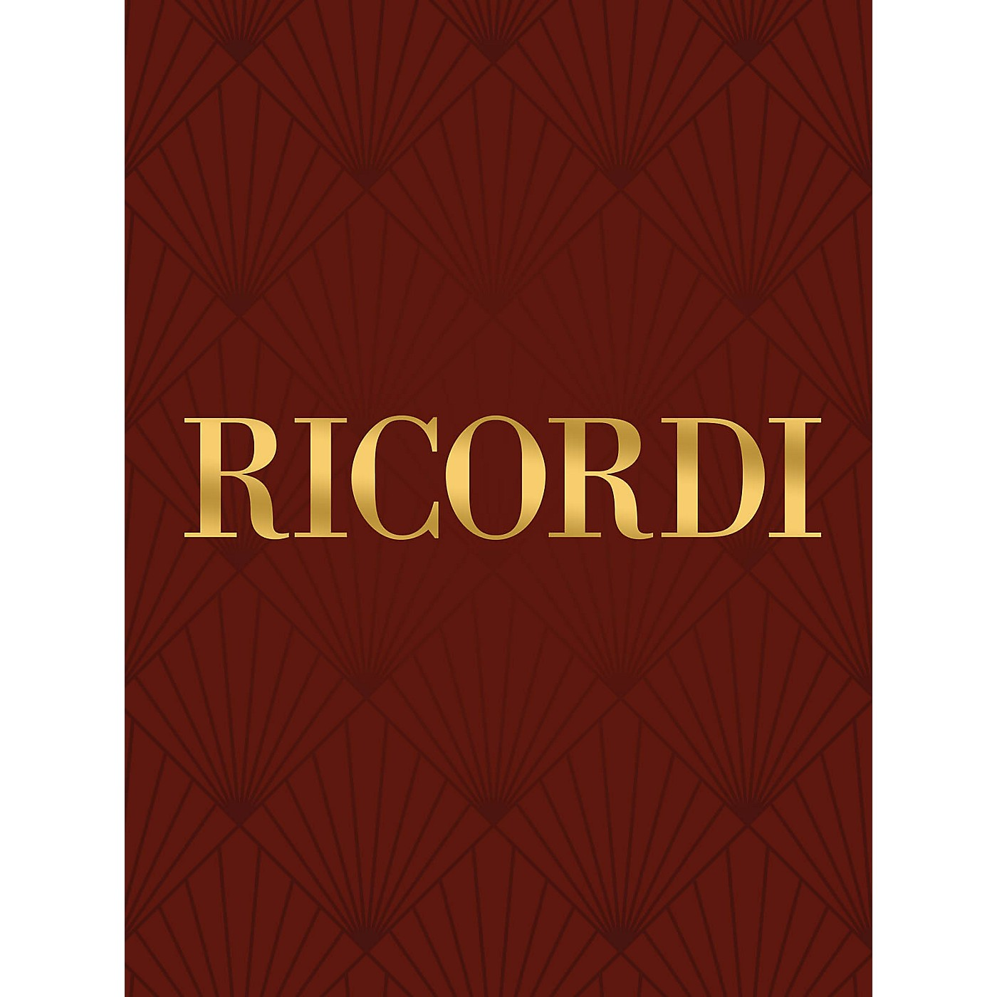 Ricordi 6 Songs Without Words (Piano Solo) Piano Large Works Series Composed by Felix Mendelssohn thumbnail
