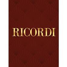 Ricordi 6 Studi Da Concerto (Piano Solo) Piano Large Works Series Composed by Franz Liszt