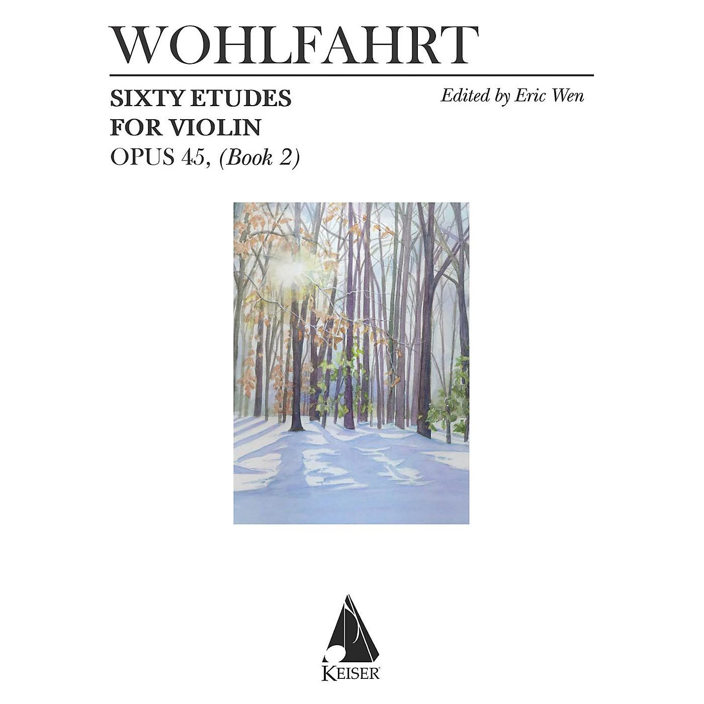 Lauren Keiser Music Publishing 60 Etudes for Violin, Op. 45 (Book 2) LKM Music Series thumbnail