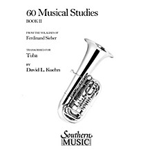 Southern 60 Musical Studies, Book 2 (Tuba) Southern Music Series Softcover Arranged by David Kuehn